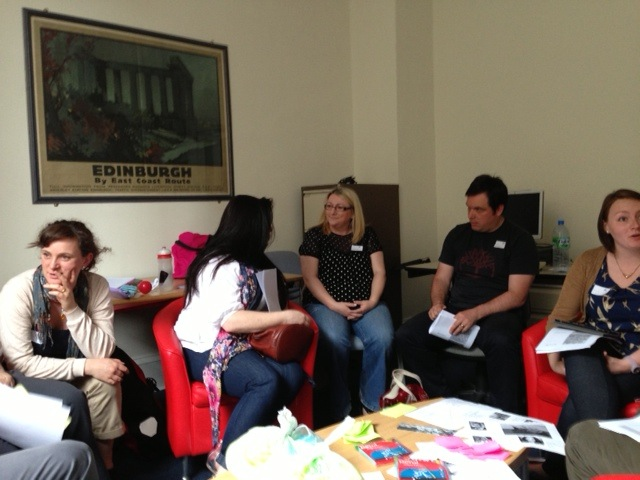 Good times in Edinburgh #tmlovelibraries Manglish session